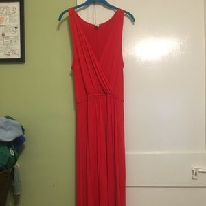Hi-lo Red Dress